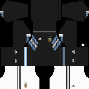 Dream League Soccer DLS 512×512 Argentina Away Kits