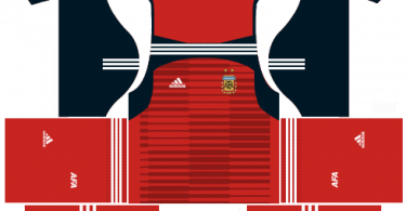 Dream-League-Soccer-DLS-512×512-Argentina-GoalKeeper-Home-Kits