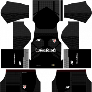 Dream League Soccer DLS 512×512 Athletic Bilbao GoalKeeper Third Kits
