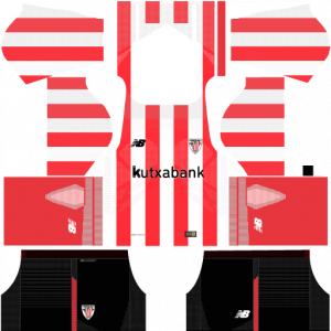 Dream League Soccer DLS 512×512 Athletic Bilbao Home Kits