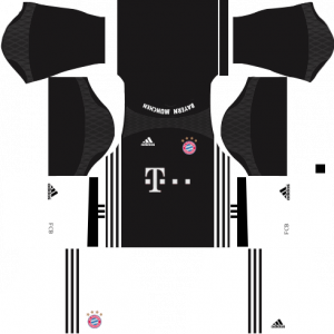 Dream League Soccer DLS 512×512 Bayern Munich GoalKeeper Third Kits