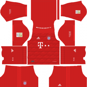 Dream League Soccer DLS 512×512 Bayern Munich Home Kits