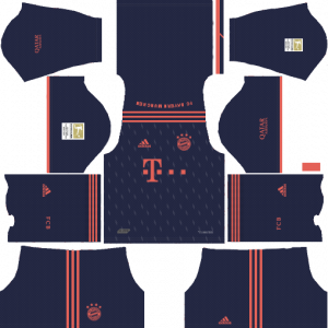 Dream League Soccer DLS 512×512 Bayern Munich Third Kits