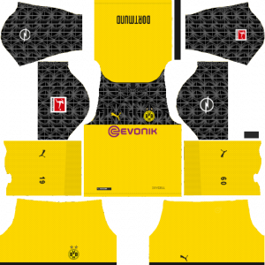 Dream League Soccer DLS 512×512 Borussia Dortmund Third Kits