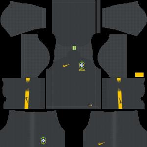 Dream League Soccer DLS 512×512 Brazil GoalKeeper Away Kits