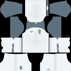 Dream League Soccer DLS 512×512 Brazil GoalKeeper Home Kits