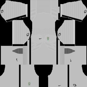 Dream League Soccer DLS 512×512 Brazil Third Kits