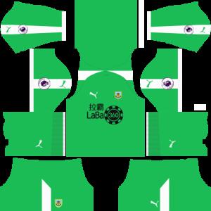 Dream League Soccer DLS 512×512 Burnley GoalKeeper Home Kits