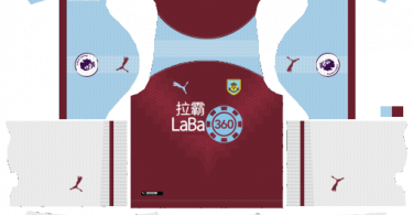 Dream-League-Soccer-DLS-512×512-Burnley-Home-Kits