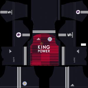 Dream League Soccer DLS 512×512 Leicester GoalKeeper Home Kits