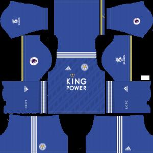 Dream League Soccer DLS 512×512 Leicester Home Kits