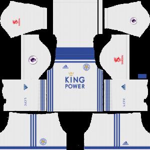 Dream League Soccer DLS 512×512 Leicester Third Kits