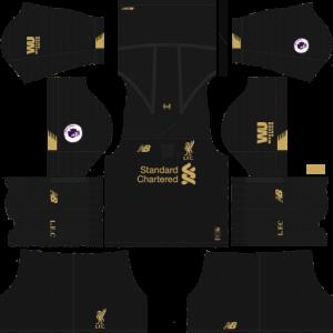 Dream League Soccer DLS 512×512 Liverpool GoalKeeper Away Kits