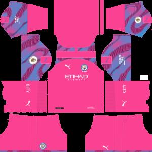 Dream League Soccer DLS 512×512 Manchester City GoalKeeper Away Kits