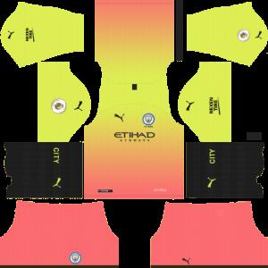 Dream League Soccer DLS 512×512 Manchester City Third Kits