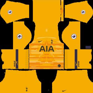 Dream League Soccer DLS 512×512 Tottenham Hotspur GoalKeeper Away Kits