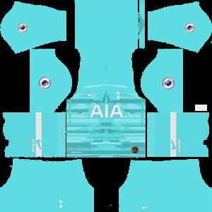 Dream League Soccer DLS 512×512 Tottenham Hotspur GoalKeeper Home Kits