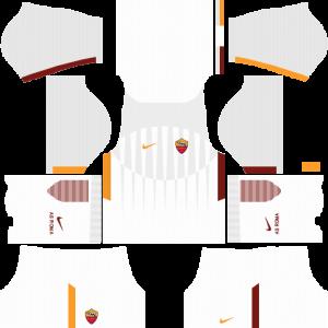 Dream League Soccer DLS 512×512 AS Roma Away Kits