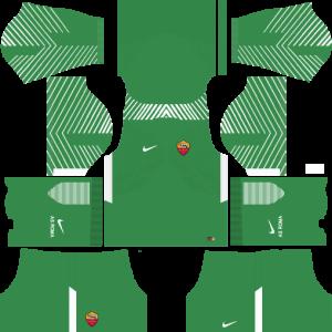 Dream League Soccer DLS 512×512 AS Roma GoalKeeper Away Kits