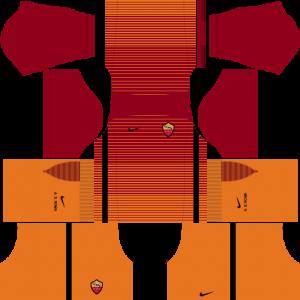 Dream League Soccer DLS 512×512 AS Roma Third Kits