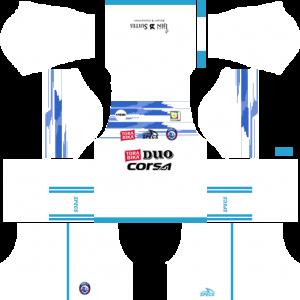 Dream League Soccer DLS 512×512 Arema FC Away Kits
