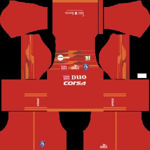 Dream League Soccer DLS 512×512 Arema FC Third Kits