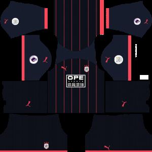 Dream League Soccer DLS 512×512 Huddersfield Away Kits