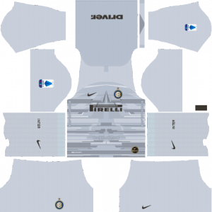 Dream League Soccer DLS 512×512 Inter Milan GoalKeeper Away Kits