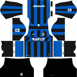 Dream League Soccer DLS 512×512 Inter Milan Home Kits