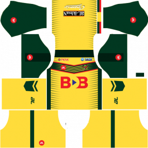 Dream League Soccer DLS 512×512 Kedah Home Kits