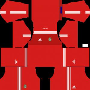 Dream League Soccer DLS 512×512 Mexico GoalKeeper Away Kits
