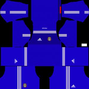Dream League Soccer DLS 512×512 Mexico GoalKeeper Third Kits