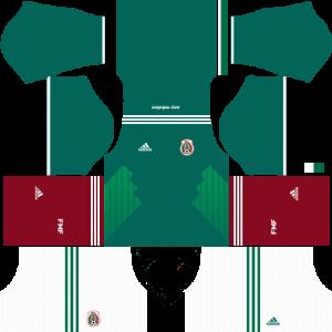 Dream League Soccer DLS 512×512 Mexico Home Kits
