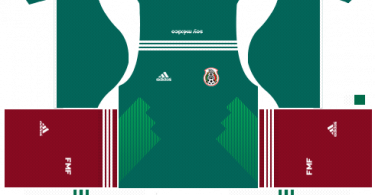 Dream-League-Soccer-DLS-512×512-Mexico-Home-Kits