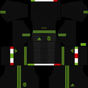 Dream League Soccer DLS 512×512 Mexico Third Kits