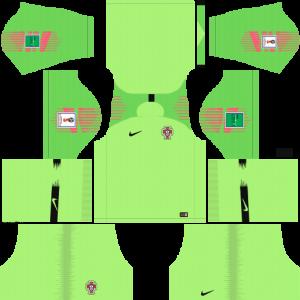 Dream League Soccer DLS 512×512 Portugal GoalKeeper Away Kits
