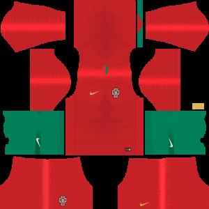 Dream League Soccer DLS 512×512 Portugal Home Kits