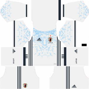 Dream League Soccer DLS 512×512 Japan Away Kits