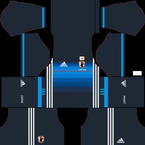 Japan Kits (2020) | Dream League Soccer Kits 512x512 & Logo