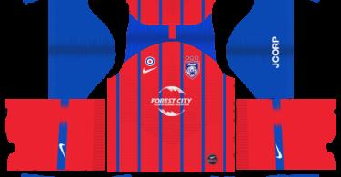 Dream-League-Soccer-DLS-512×512-Johor-Darul-Takzim-Home-Kits