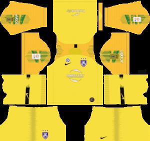 DLS Johor Darul Takzim GoalKeeper Away Kits