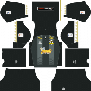 Dream League Soccer DLS 512×512 Perak Away Kits