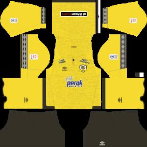 Dream League Soccer DLS 512×512 Perak Home Kits