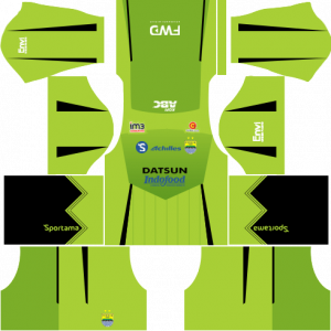 Dream League Soccer DLS 512×512 Persib Bandung GoalKeeper Away Kits