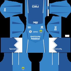 Dream League Soccer DLS 512×512 Persib Bandung Home Kits