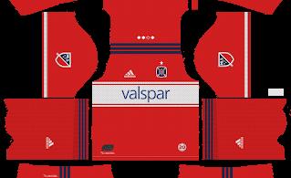 Dream-League-Soccer-DLS-512×512-Chicago-Fire-Home-Kits