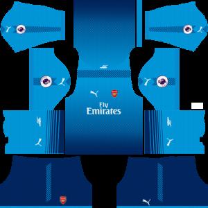 Dream League Soccer DLS 512×512 Arsenal Away Kits