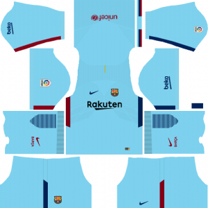 Dream League Soccer DLS 512×512 Barcelona Kits Away Kits