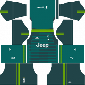 Dream League Soccer DLS 512×512 Juventus Kits GoalKeeper Home Kits