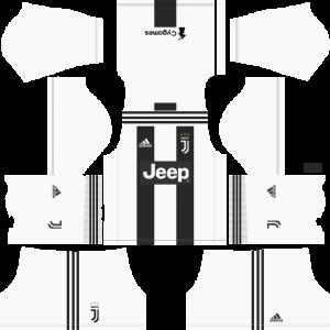 Dream League Soccer DLS 512×512 Juventus Kits Home Kits